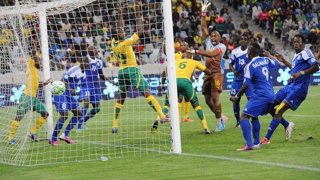 South Africa v Central African Republic