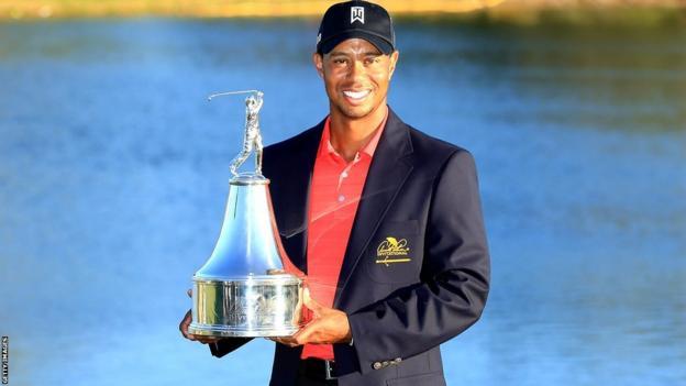 Tiger Woods wins 2012 Arnold Palmer Invitational