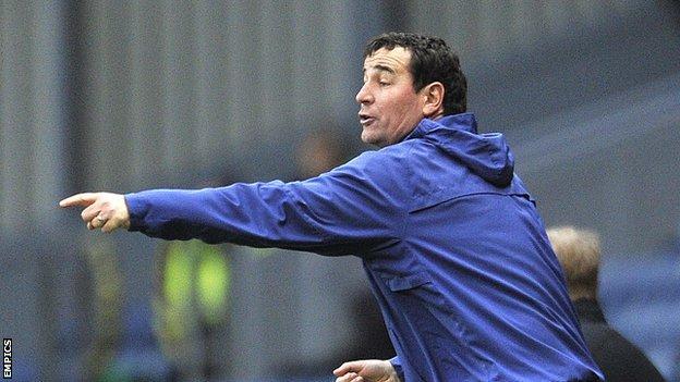 Blackburn Rovers caretaker manager Gary Bowyer