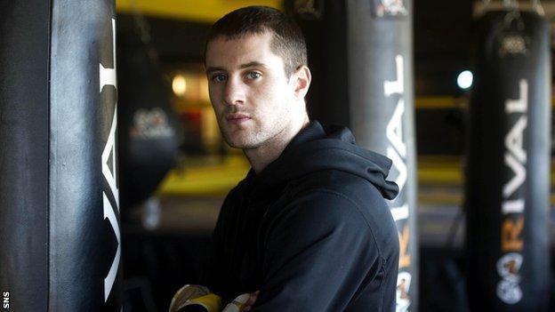 WBO lightweight champion Ricky Burns
