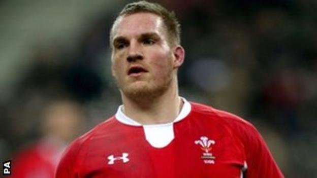 Gethin Jenkins of Wales