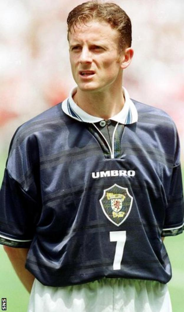 Former Scotland forward Kevin Gallacher
