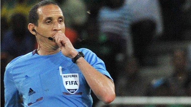 Tunisian referee Slim Jdidi