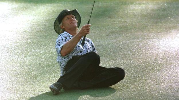 Greg Norman in 1996