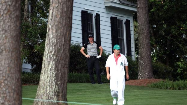 Rory McIlroy at the 2011 Masters