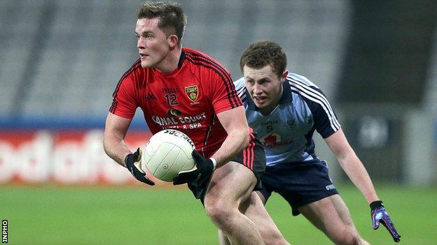 Paul McComiskey in action against Dublin last weekend