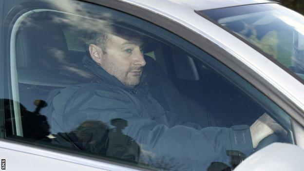 Rangers chief scout Neil Murray