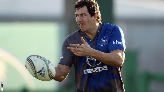 Mike McCarthy returns for Connacht