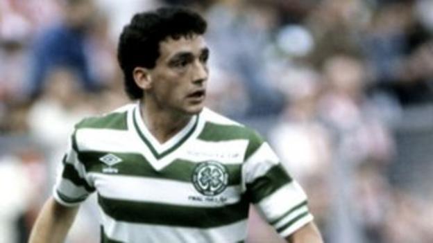 Celtic midfielder Paul McStay