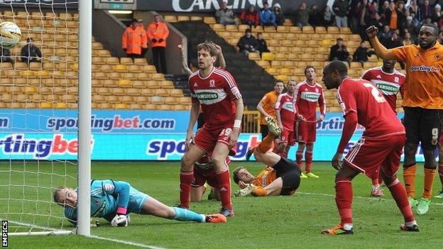 Kevin Doyle scores the winner