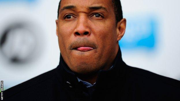 Blackpool manager Paul Ince