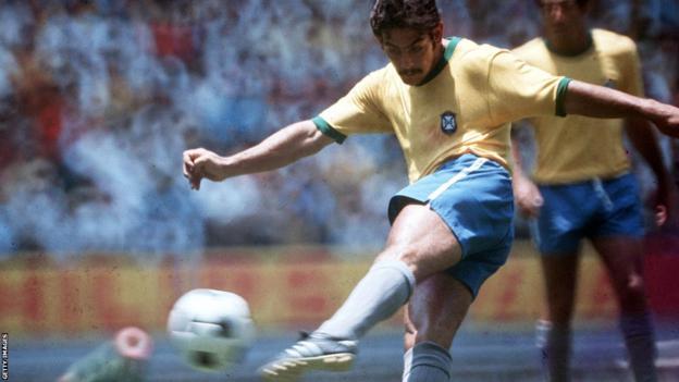 Brazil's Rivelino in 1970