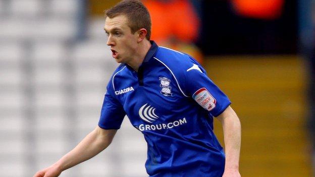 Shane Ferguson, on-loan Birmingham City winger