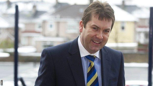 Scottish Football League chief executive David Longmuir