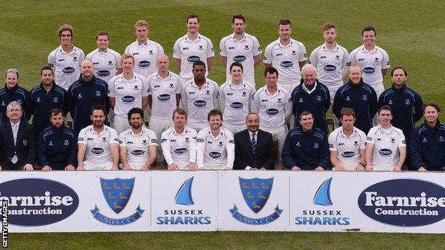 Sussex CCC squad
