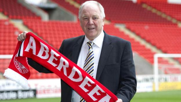 Craig Brown becomes the new Aberdeen manager