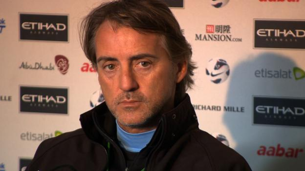 Roberto Mancini: Man City's missed signings cost title chance