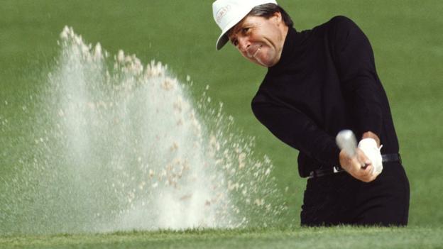 Three-time Masters champion Gary Player