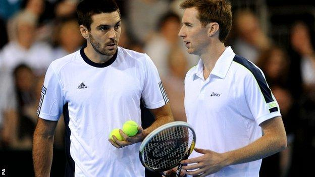 Colin Fleming and Jonny Marray