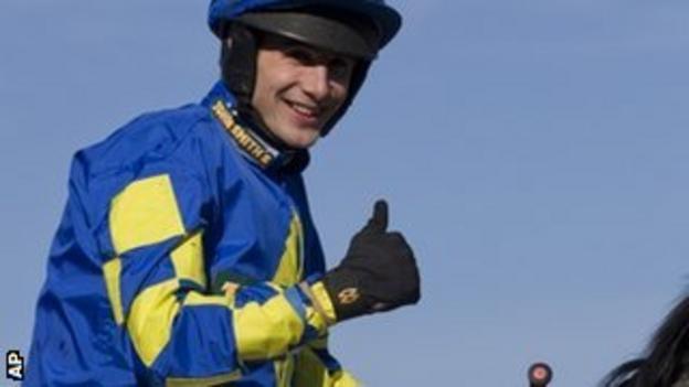 Grand National winner Ryan Mania