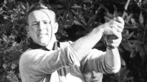 Arnold Palmer at Wentworth in 1964