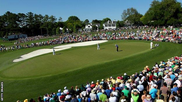 The Masters at Augusta National Golf Club