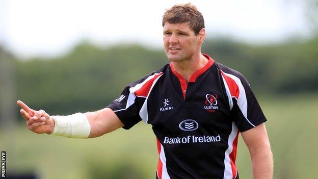 Ulster captain Johann Muller