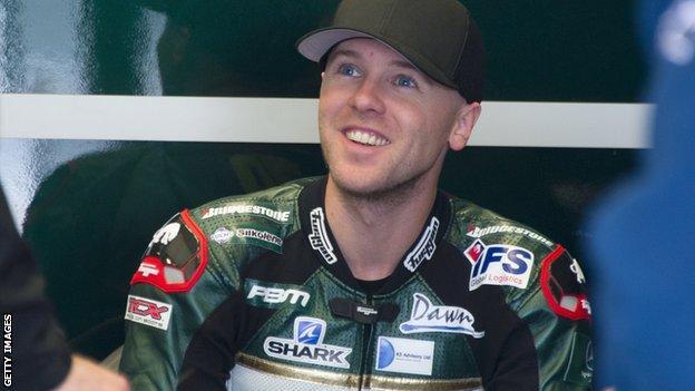 Michael Laverty of the Paul Bird Motorsport team
