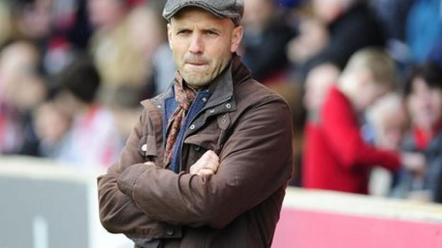 exeter city paul tisdale expects last day play off decider bbc sport. Black Bedroom Furniture Sets. Home Design Ideas