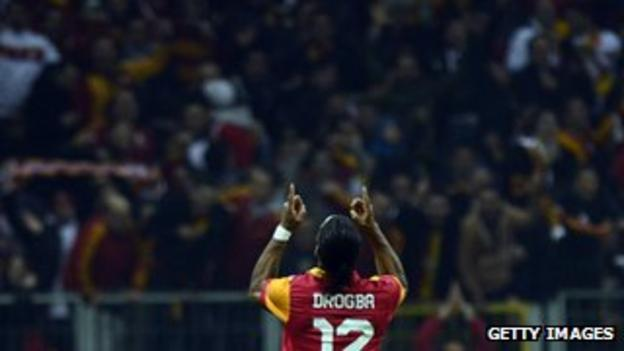 Galatasaray striker Didier Drogba