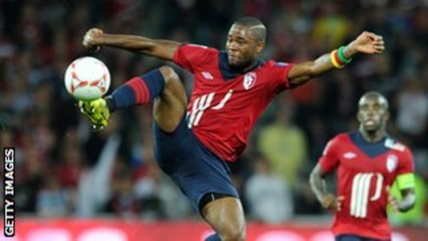 Lille defender Aurelien Chedjou