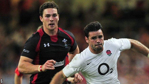 George North and Ben Foden