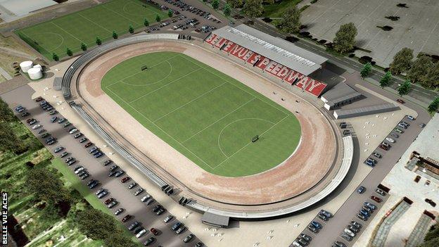 The proposed Belle Vue Sports Village