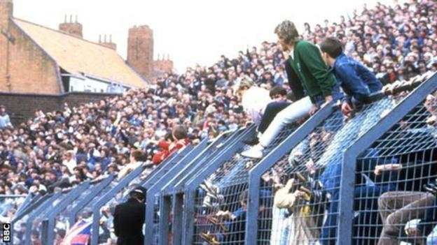 Birmingham v Leeds match in 1985