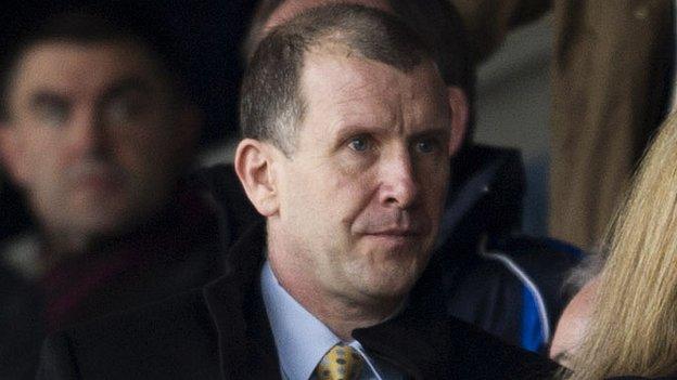 Scottish Football Association chief executive Stewart Regan