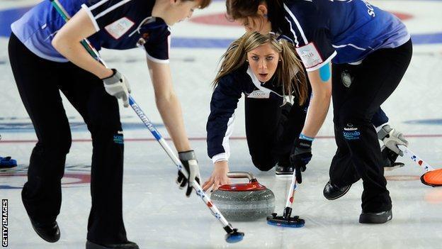 Eve Muirhead is world champion