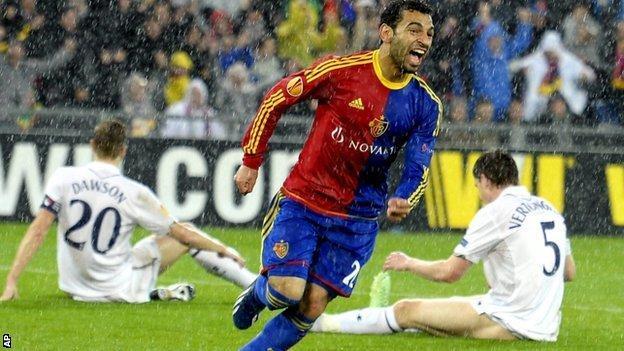 Basel v Tottenham Hotspur