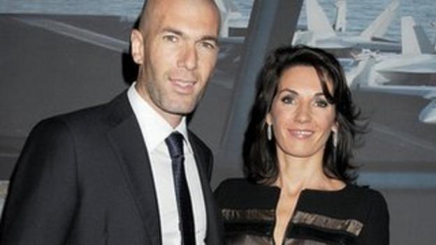 Former France international Zinedine Zidane
