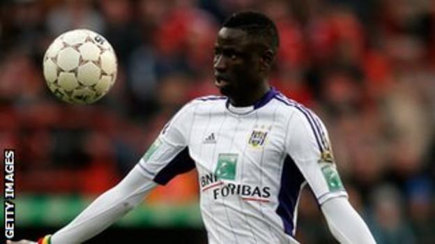 Anderlecht defender Cheikhou Kouyate
