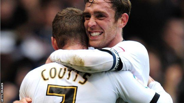 Paul Coutts and Richard Keogh