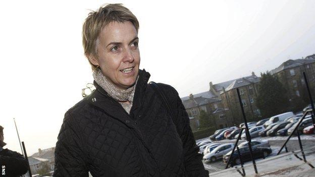 Motherwell chief executive Leeanne Dempster