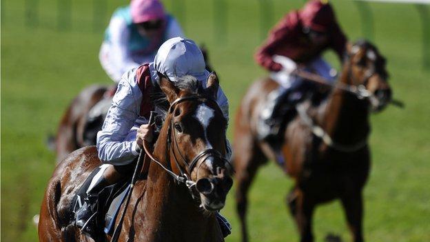 Toronado wins the Craven Stakes