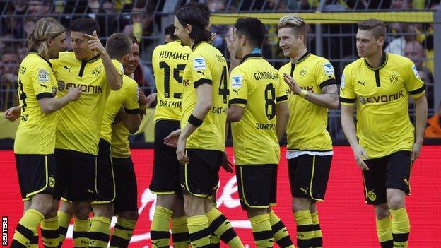 Borussia Dortmund players