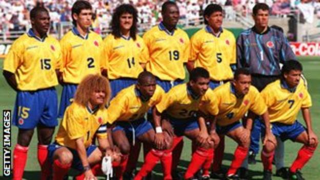 1994 Colombia World Cup team