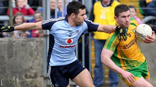 Dublin's Kevin O'Brien denied biting Paddy McBrearty in the recent Football League game