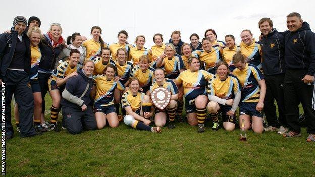 Worcester's Women win Premiership