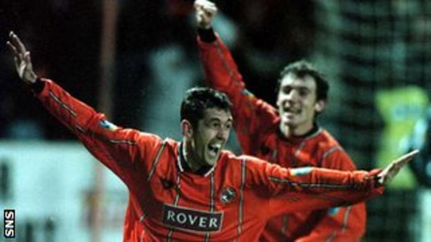 Owen Coyle and Christian Dailly