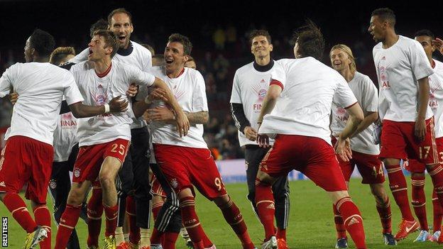 Barcelona 0 3 Bayern Munich Agg 0 7 Bbc Sport