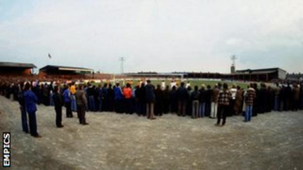 Newport County's old Somerton Park home
