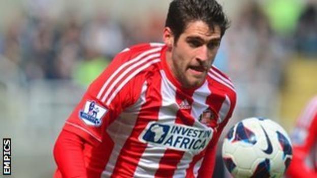 Sunderland striker Danny Graham
